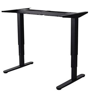 schreibtisch elektrisch h henvertsellbar flexibel und gesundes arbeiten. Black Bedroom Furniture Sets. Home Design Ideas