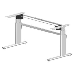 Ergobasis elektrisches Tischgestell mit stufenloser Höherstellung